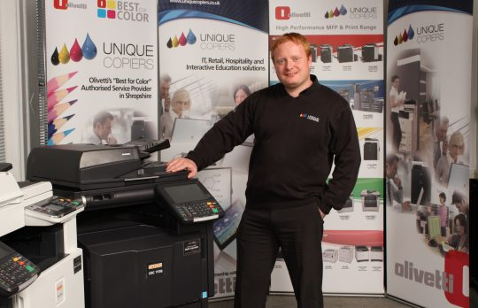 Unique Copiers Ltd, Glenn Morgan IT Manager