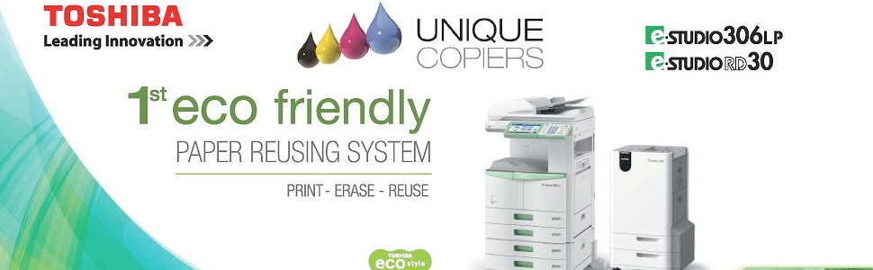 Toshiba Eco Copier Eco friendly Photocopier