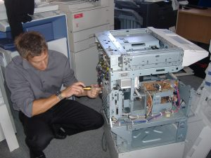 John Ward Unique Copiers Service Manager